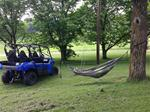 Hammock with Twin UTV Straps