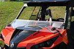 Can Am Maverick and Commander JStrong Folding Windshield