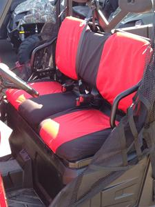 Polaris Ranger Xp 900 One Piece Backrest Seat Covers Full