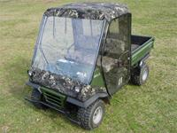 Kawasaki Mule 2500/2510 Full Cab Enclosure with Removable Doors