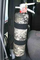 Roll Bar / ATV Rack Fire Extinguisher Carrier
