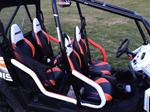 Polaris RZR4 Side Bar and Rear Grab Handle Pads