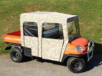 Kubota RTV1140 Full Cab Enclosure with Removable Doors