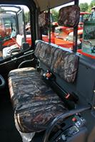 Kubota RTV1100 Seat Covers with Head Rest Covers