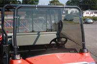 Kubota RTV1140 Windshield Tinted Hard Coated