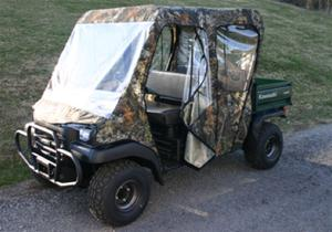 Kawasaki Mule Transport 4 Door Full Cab Enclosure