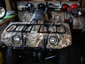 Yamaha Grizzly 600 Camo Fender Cover Kit