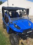 Kawasaki Teryx 2 and 4 JStrong Folding Windshield thru 2015