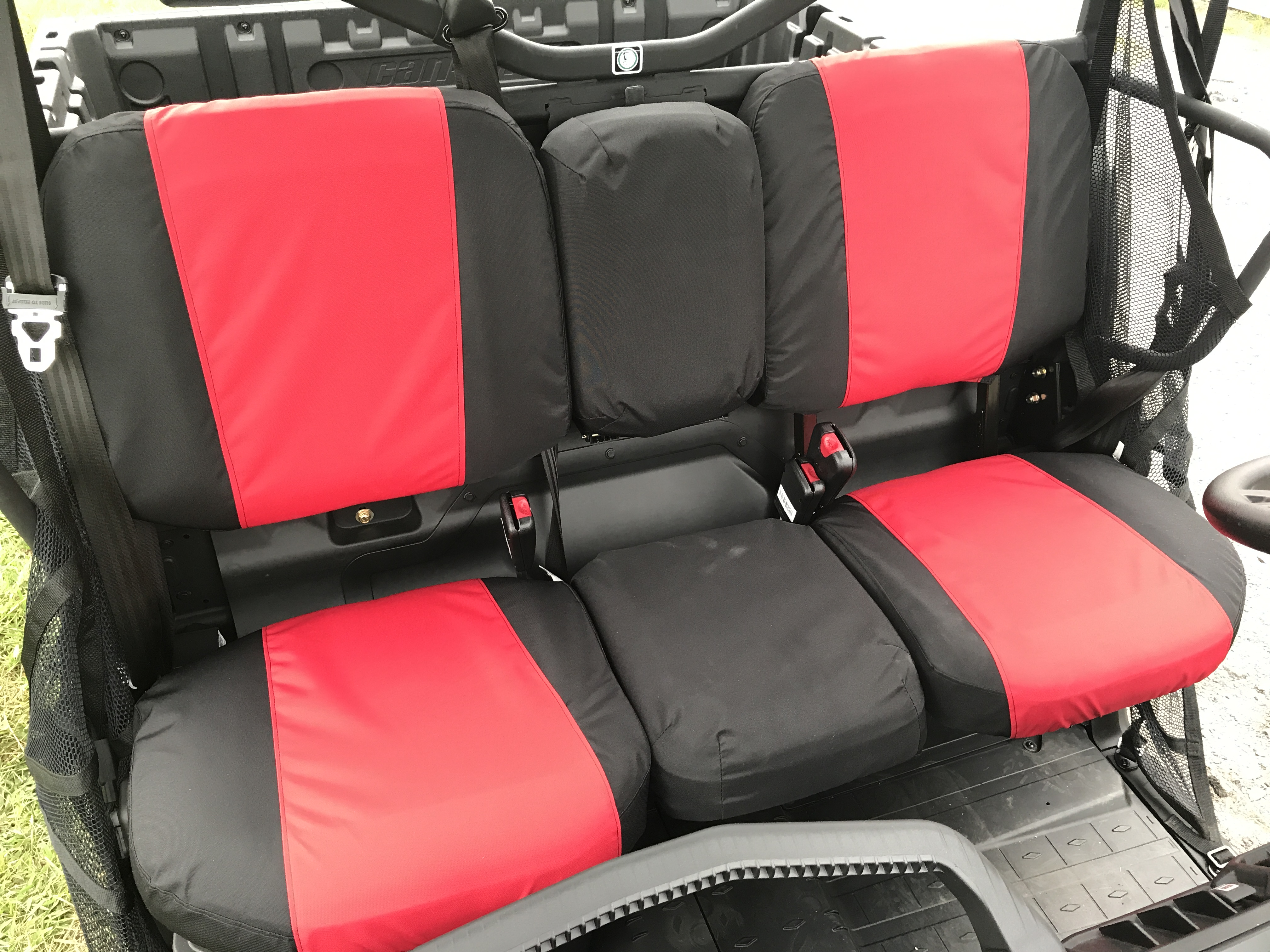 New Defender 2018 >> Can Am Defender Seat Covers - Greene Mountain Outdoors LLC