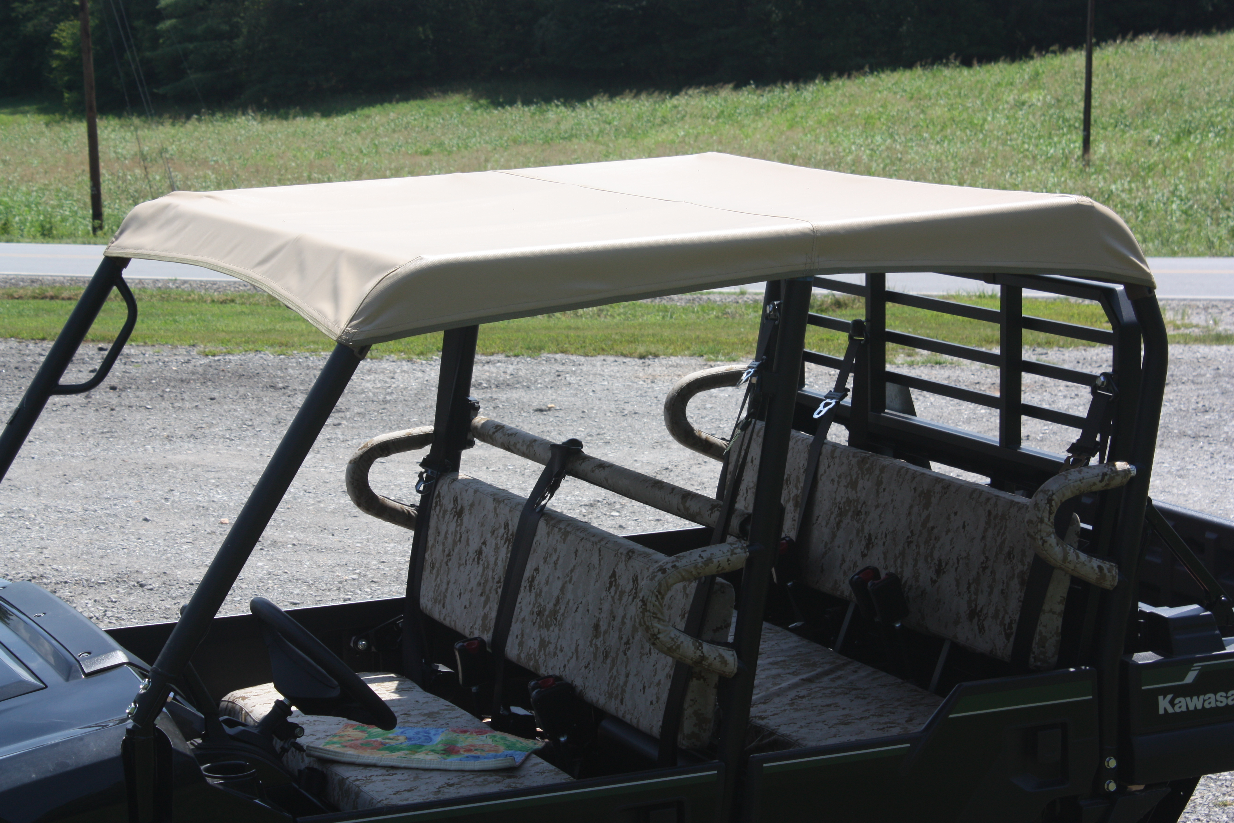 Kawasaki Mule Pro Fxt Roof Cover Greene Mountain