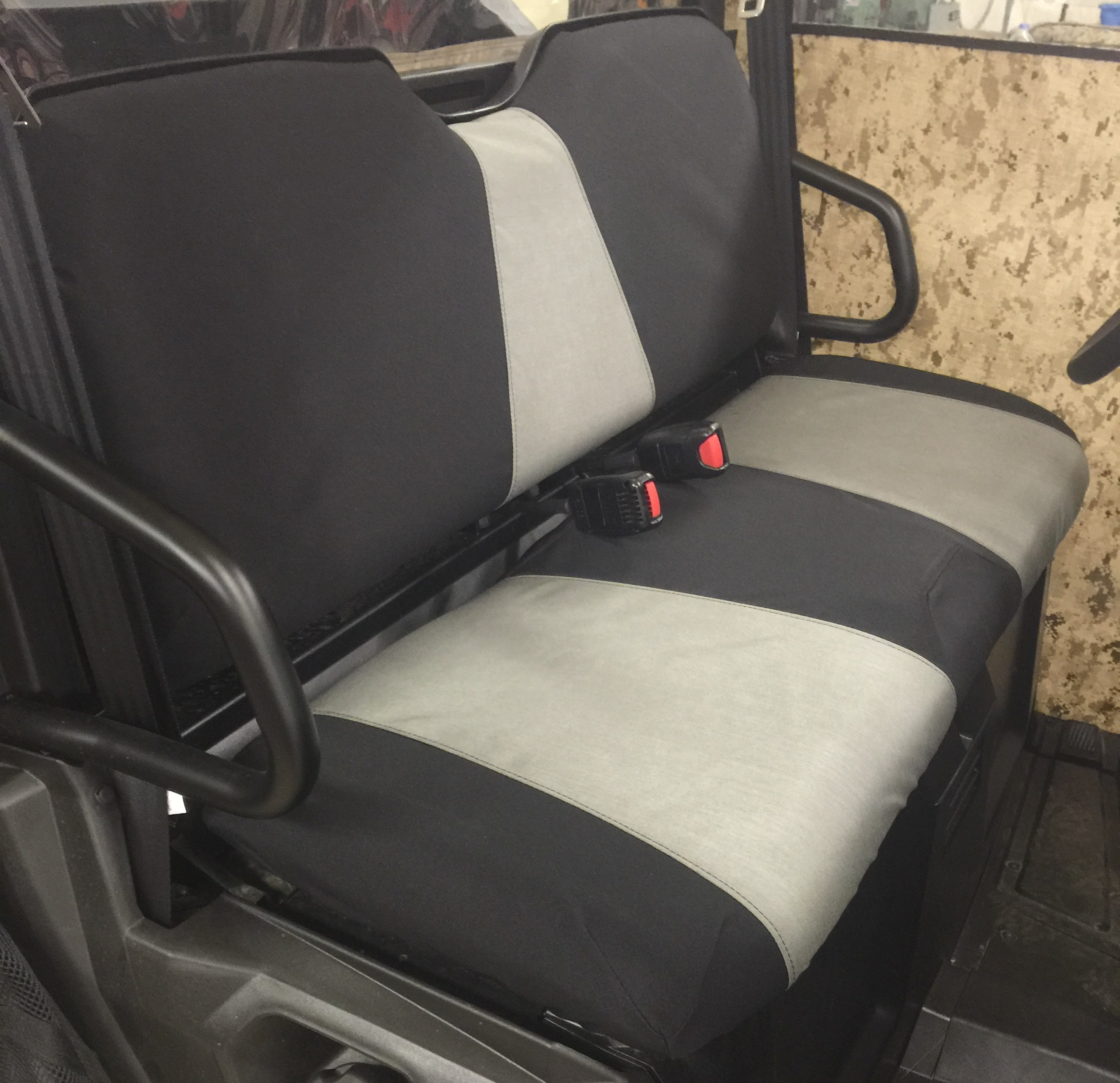 Polaris Ranger 500 Seat Covers Velcromag
