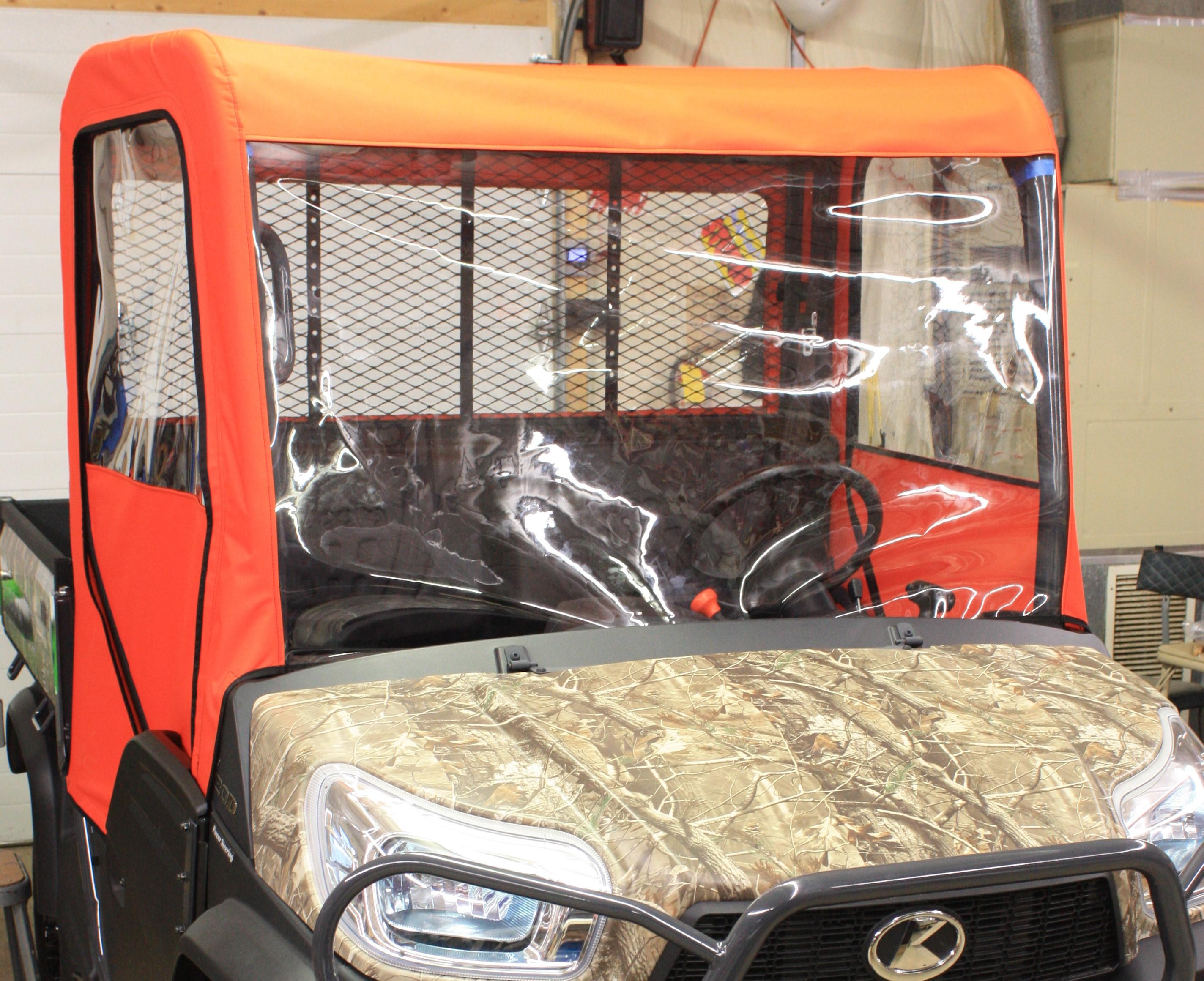 Kubota RTV X1120 Full Cab Enclosure View Size