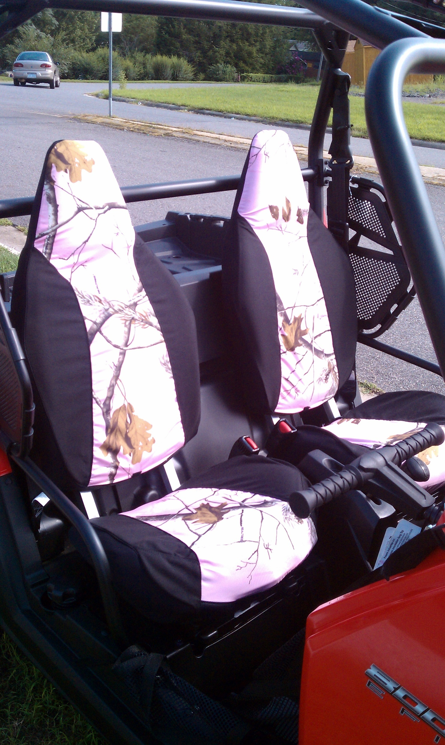 Polaris Ranger Crew 900 >> Polaris RZR 4 Seat Covers thru 2014 - Greene Mountain Outdoors LLC