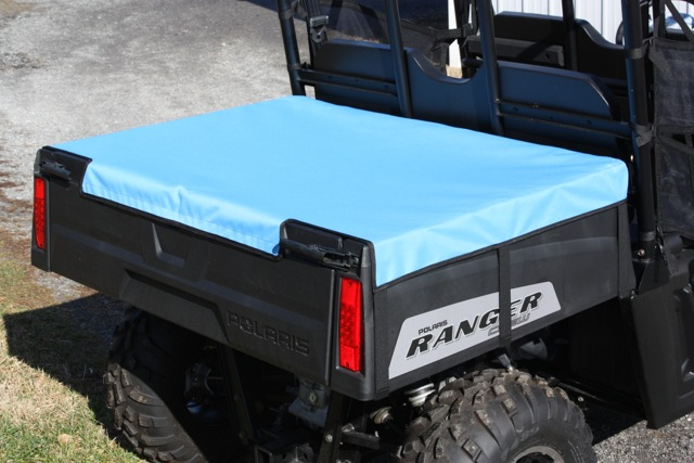 polaris ranger 400 500 800 2010 up bed cover mid size greene
