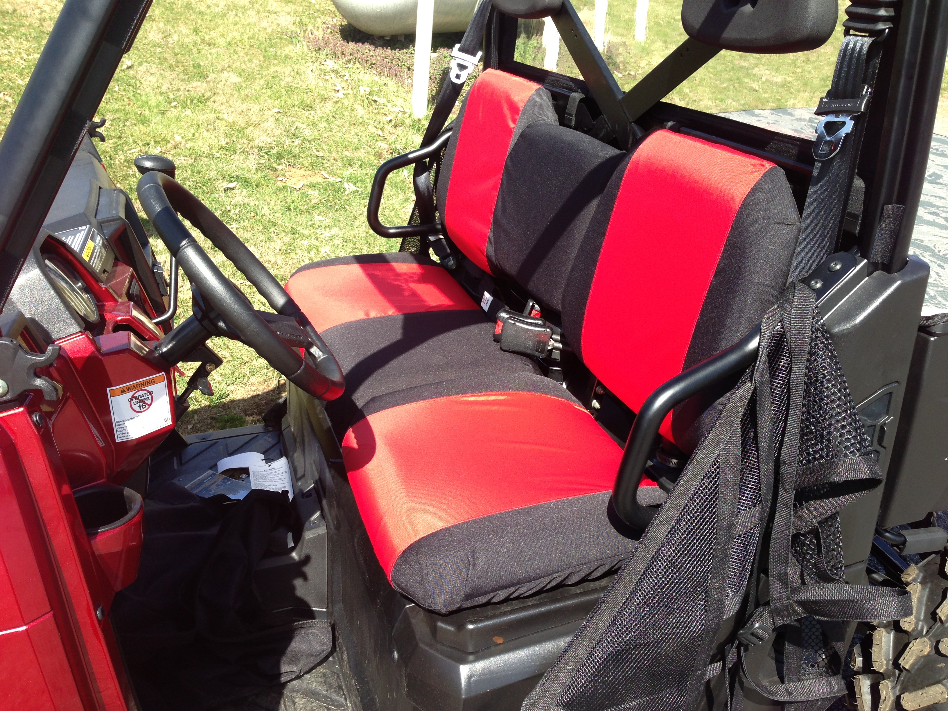 Polaris Ranger Seat Cover For Sale