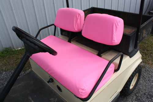 Club Car Seat Covers 1981 Thru 20005 DS Models Pink