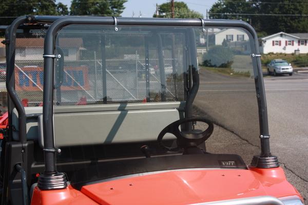Kubota RTV1140 Windshield Tinted Hard Coated