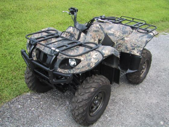 Yamaha Grizzly 660 Camo Fender Cover Kit Greene Mountain